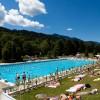 Plage extérieure piscine Morzine